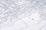 Fototapete Skiläufer - Mann - Wintersport