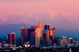 Fototapety Los Angeles at sunset