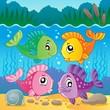 Freshwater fish theme image 7