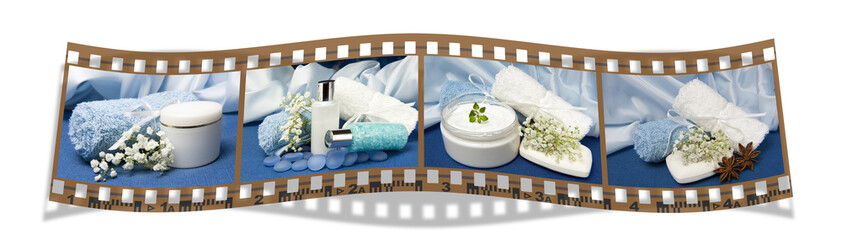 film with natural for body care