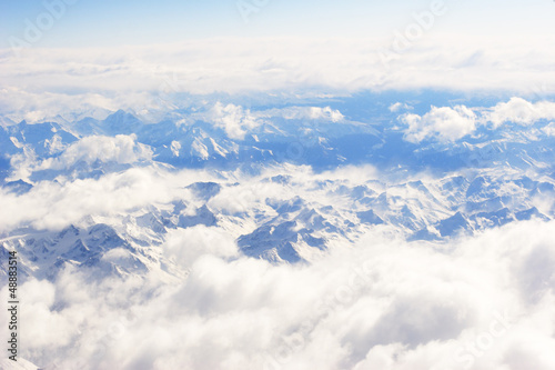 Alps airview