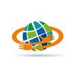 Logo i love Earth # Vector