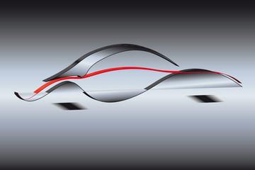 Autosilhouette 3d 4