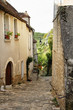 Cobbled path in a Medieval French Village