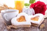 Fototapety valentine breakfast