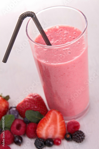 berries smoothie