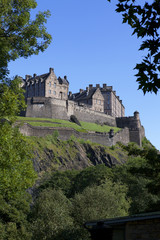 Edinburgh Castle, Scotland,