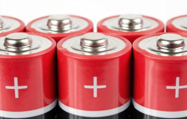 Batterien, Details Pluspole AA