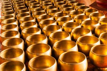 Buddhist alms bowl.