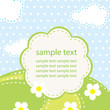 vector background for baby