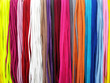Shoelaces colorful background
