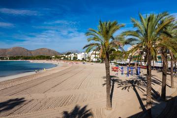 Port of Alcudia Mallorca