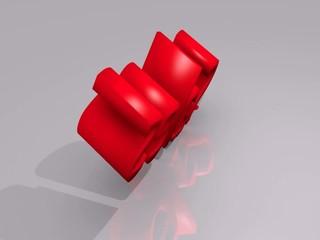Sales 3D video concept