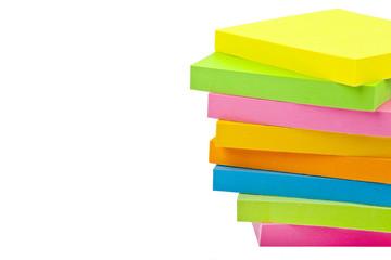 Stack of Sticky Note Pads