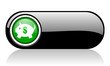 piggy bank black and green web icon on white background