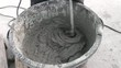Blender mixing cement