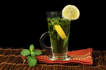 Cup of mint tea