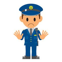 警察官 止める