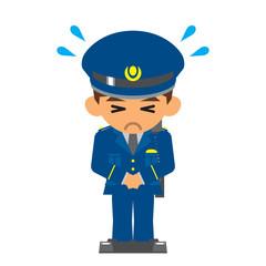 警察官 謝る