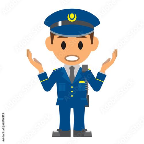 警察官 質問