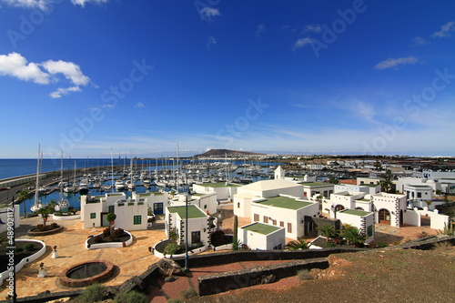 canvas print picture Lanzarote - Marina Rubicon