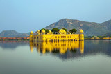 Water Palace (Jal Mahal) in Man Sagar Lake. Jaipur, Rajasthan, I