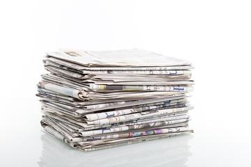 alte Tageszeitungen  © Matthias Buehner