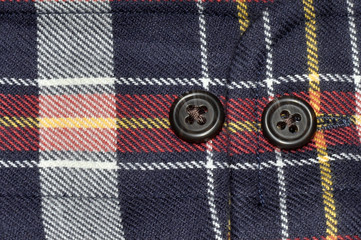 Shirt Cuff With Buttons