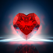 Diamond heart