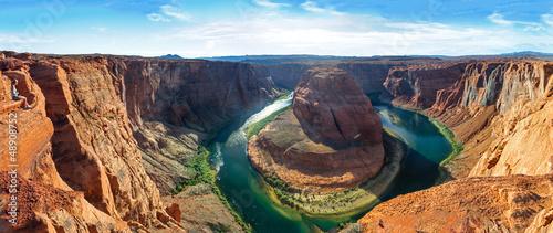 Frau Horseshoe Bend Panorama 46 Megapixel
