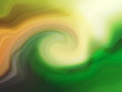 Green wind handpainted abstract background