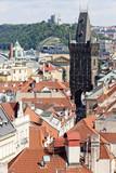 Gunpowder Gate, Prague, Czech Republic poster