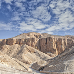 Valley of the kings, Egypt.