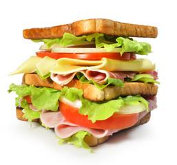 Sandwich tamaño XXL.