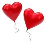 Die Herzballons