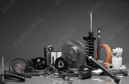 canvas print picture Auto parts