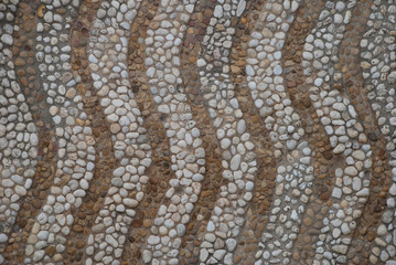 Wellen Mosaik