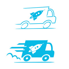 livraison express (truck & rocket) 1