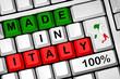 Made in Italy tastiera 3