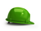 Green construction helmet