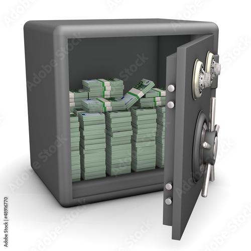 Opened Safe Euro Notes