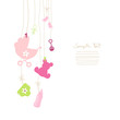 Hanging Baby Symbols Girl