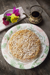 Torta di pinoli - Pine nut cake