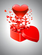 Valentinstagskarte