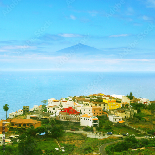 Landscape of Canary island.