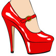 Scarpa rossa