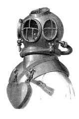 Diving Suit - Scaphandre - Taucheranzug - 19th century