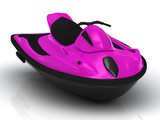 Bright attractive watercraft