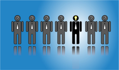 Choosing the right candidate from the list of candidates