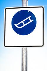 luger warning sign